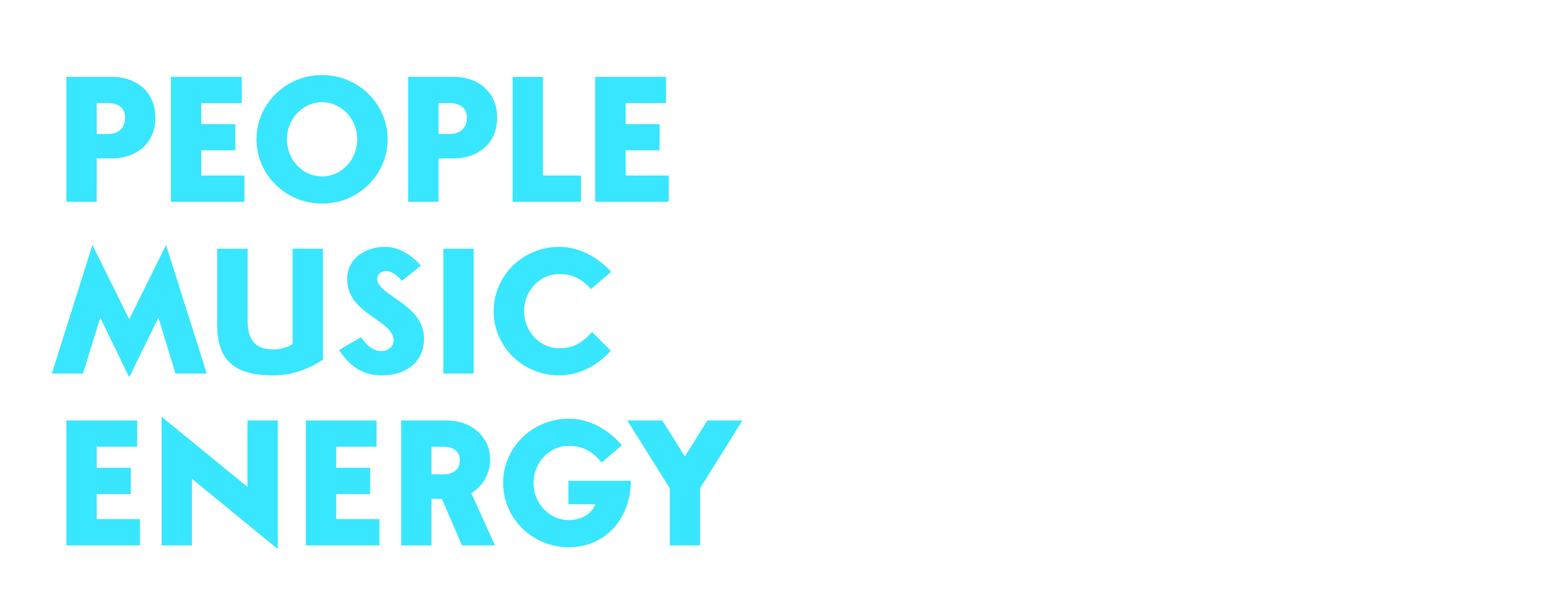 People Music Energy